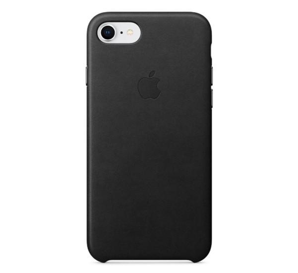 Apple leather case iPhone 7 / 8 / SE 2020 black
