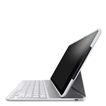 Belkin QODE Ultimate Keyboard Case QWERTY iPad Air wit