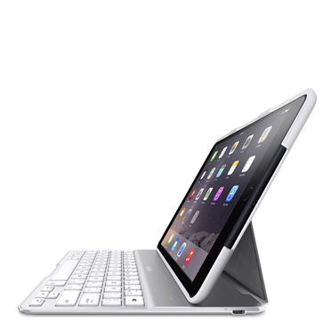 Belkin QODE Ultimate Keyboard Case QWERTY iPad Air 2 wit
