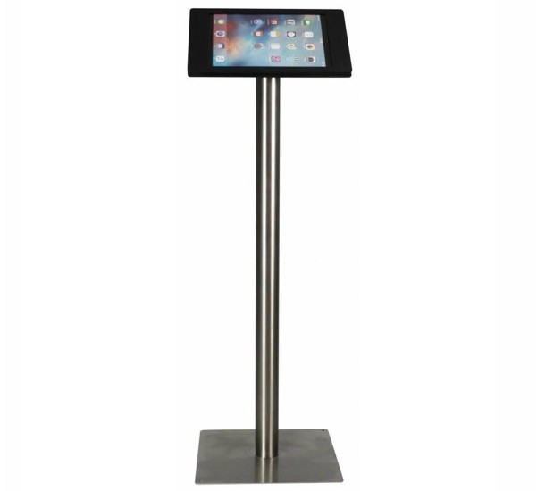 Tablet vloerstandaard Fino iPad Pro 12,9 (2015/2017) zwart RVS