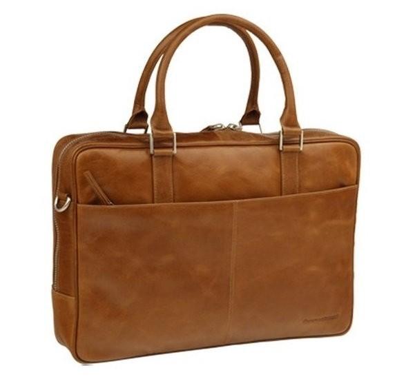 """dbramante1928 leren business bag 16"""" Rosenborg bruin"""
