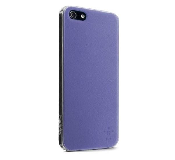 Belkin View case iPhone 5(S)/SE paars