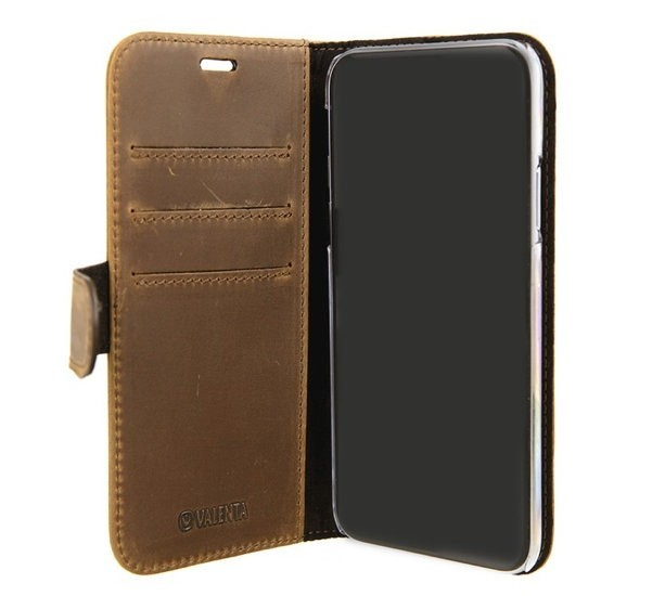 Valenta Booklet Classic Luxe iPhone XR Vintage Bruin