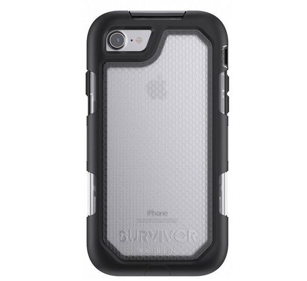 Griffin Survivor Summit case iPhone 7 / 8 Plus grijs
