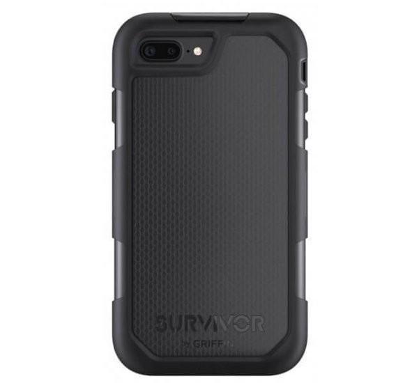 Griffin Survivor Summit case iPhone 7 / 8 Plus zwart