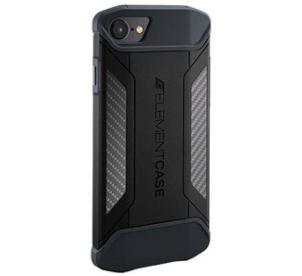 Element Case CFX iPhone 7 / 8 / SE 2020 zwart