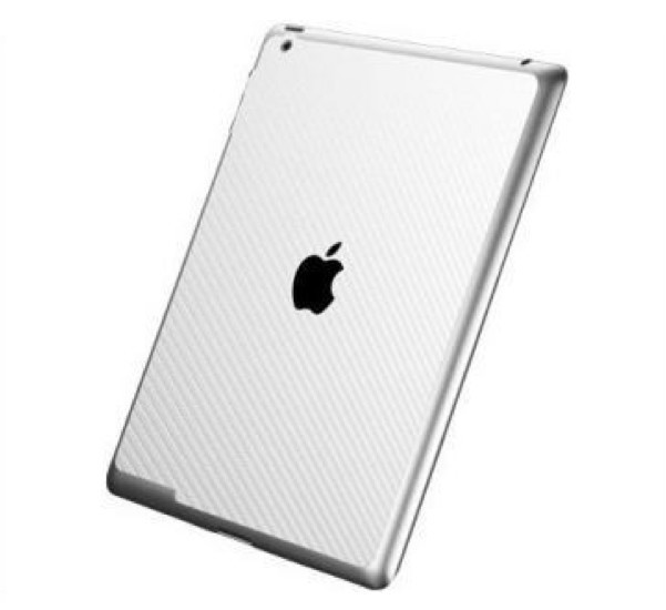 Spigen Skin Guard Carbon iPad 3/4 wit