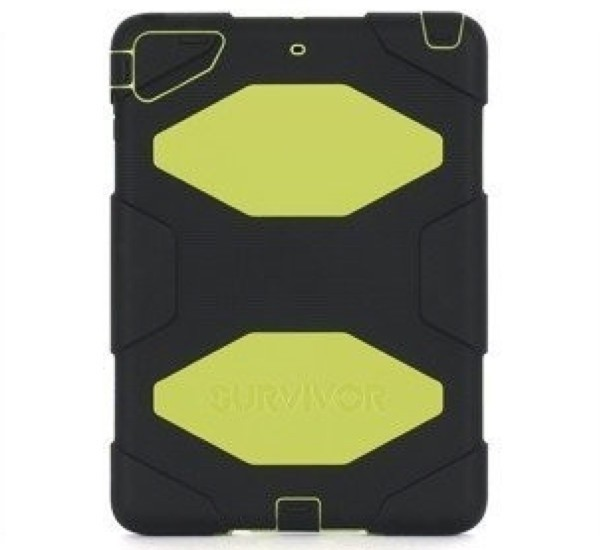 Griffin Survivor All-Terrain hardcase iPad Air 1 geel-zwart