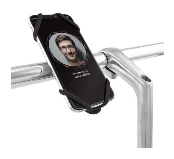 Bone Bike Tie 2 Universele Fietshouder zwart