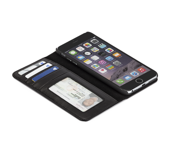 Case-Mate Wallet Folio case iPhone 6(S)/7 Plus leer