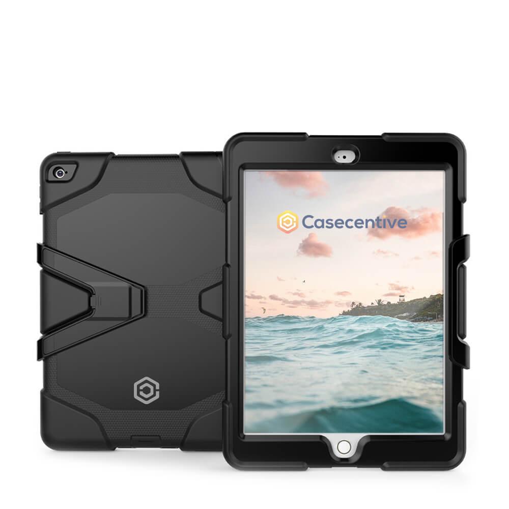 Casecentive Ultimate Hardcase iPad 2017 / 2018 zwart
