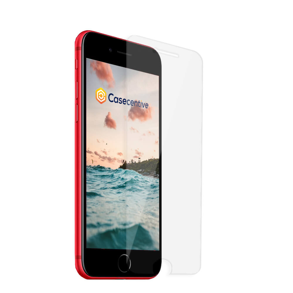 Casecentive Glass Screenprotector 2D iPhone 7 / 8 / SE 2020