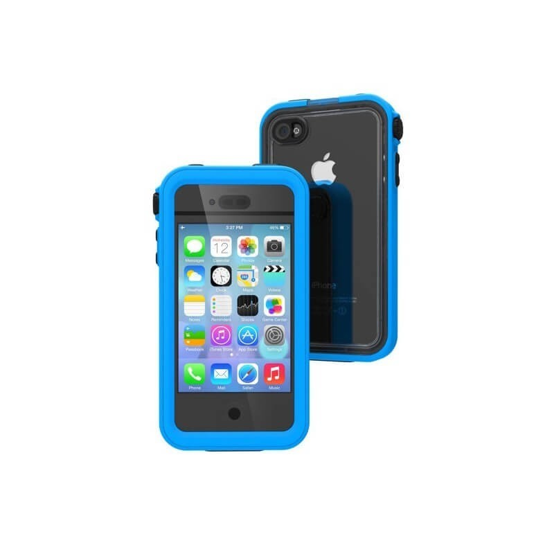 Catalyst waterproof case iPhone 4(S) blauw