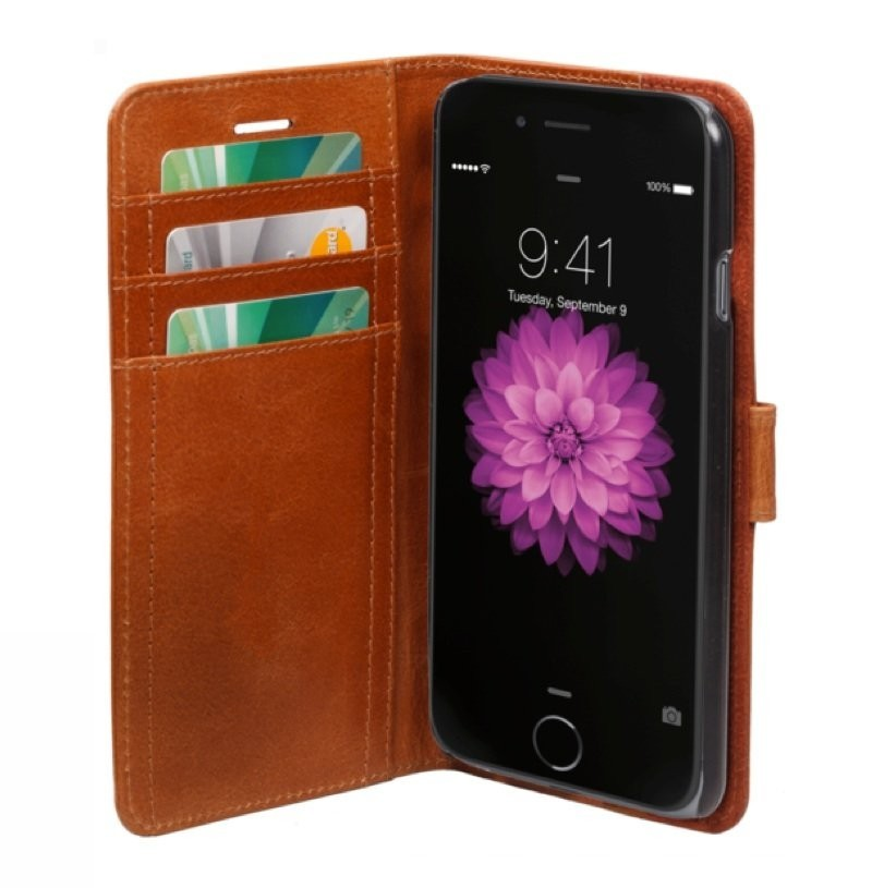 dbramante1928 leren wallet folio case iPhone 6(S) Plus