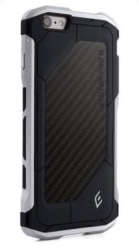 Element Case Sector Pro II iPhone 6(S) zwart/zilver