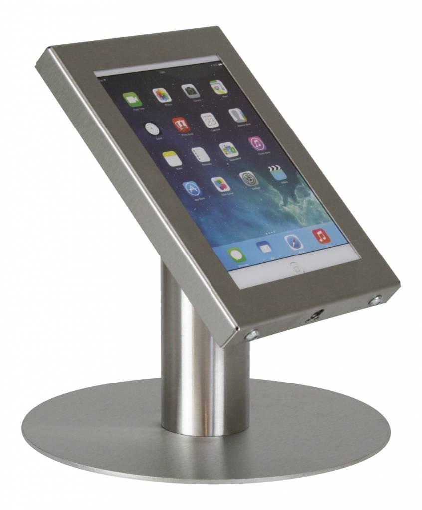 Tablet tafelstandaard Securo iPad Mini en Galaxy Tab 3 RVS