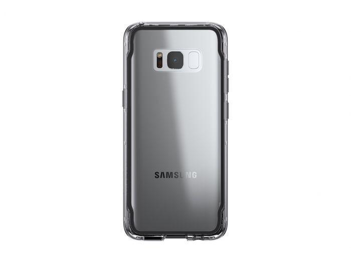 Griffin Survivor Clear Galaxy S8 zwart/grijs