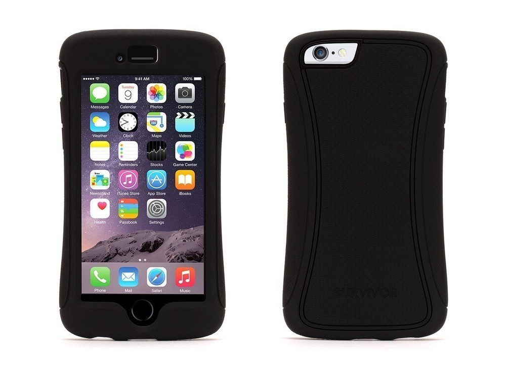 Griffin Survivor Slim hardcase iPhone 6(S) zwart