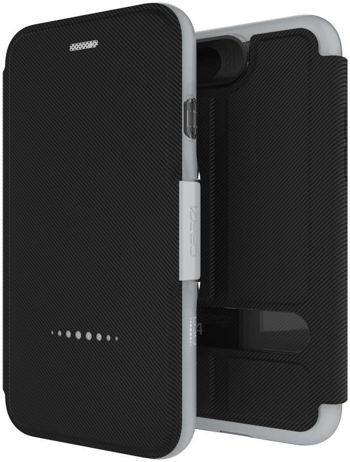 GEAR4 D3O Oxford iPhone 7 zwart/zilver