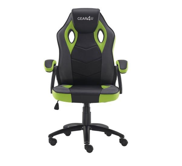 Gear4U Rook gaming chair groen / zwart