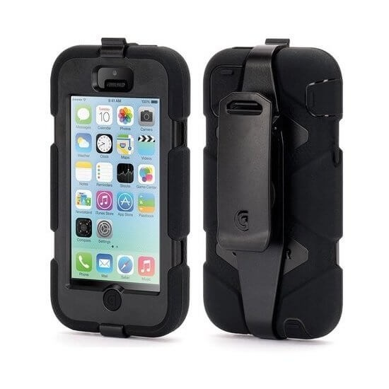 Griffin Survivor All-Terrain hardcase iPhone 5C zwart