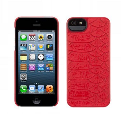 Griffin Moxy Form iPhone 5(S)/SE rood