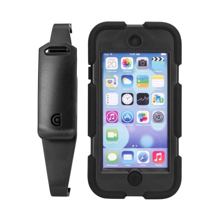 Griffin Survivor All-Terrain hardcase iPod Touch 5/6 zwart