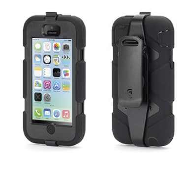Griffin Survivor hardcase iPhone 5C zwart