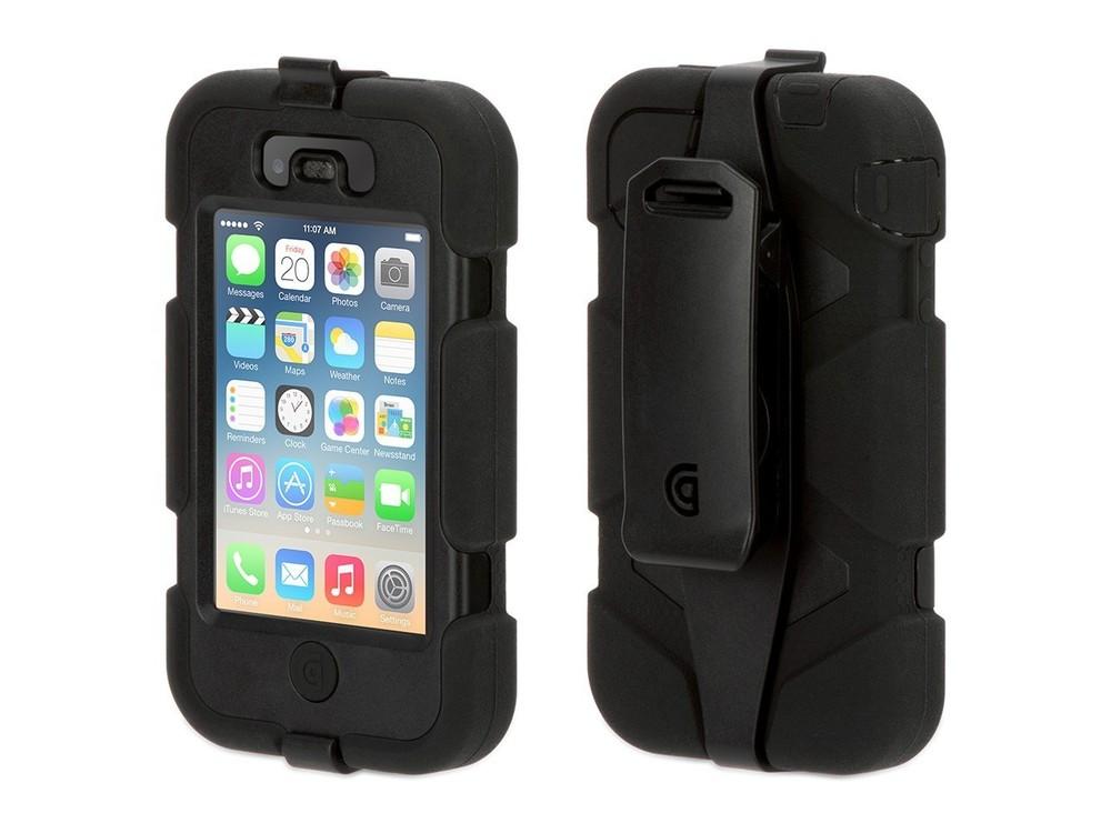 Griffin Survivor hardcase iPhone 4(S) zwart