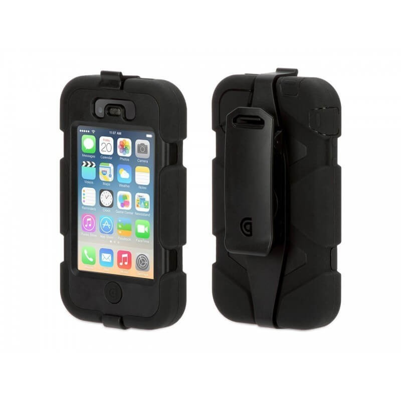 Griffin Survivor All-Terrain hardcase iPhone 4(S) zwart