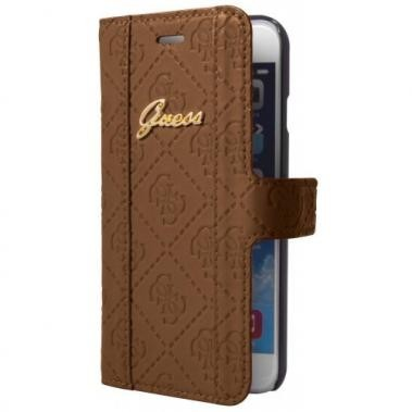 Guess Scarlett iPhone 6(S) Plus Folio Case bruin