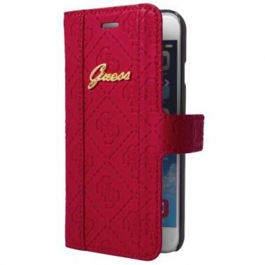 Guess Scarlett iPhone 6(S) Plus Folio Case rood
