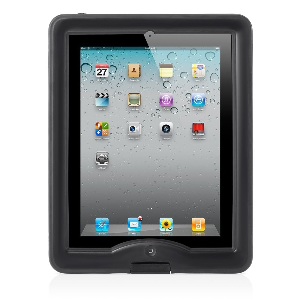 Lifeproof Nüüd case iPad 2/3/4 zwart
