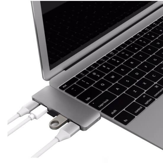 HyperDrive USB-C 5 in 1 Adapter Kit USB 3.1 zilver