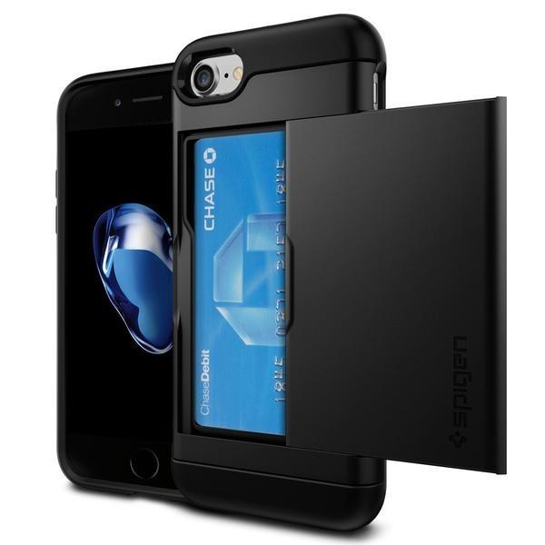 Spigen Slim Armor CS iPhone 7 / 8 zwart