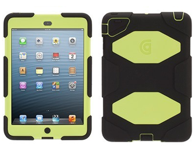 Griffin Survivor hardcase iPad Mini 1/2/3 groen-geel/zwart