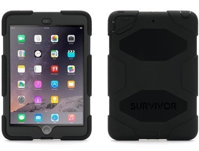 Griffin Survivor All-Terrain hardcase iPad Mini 1/2/3 zwart