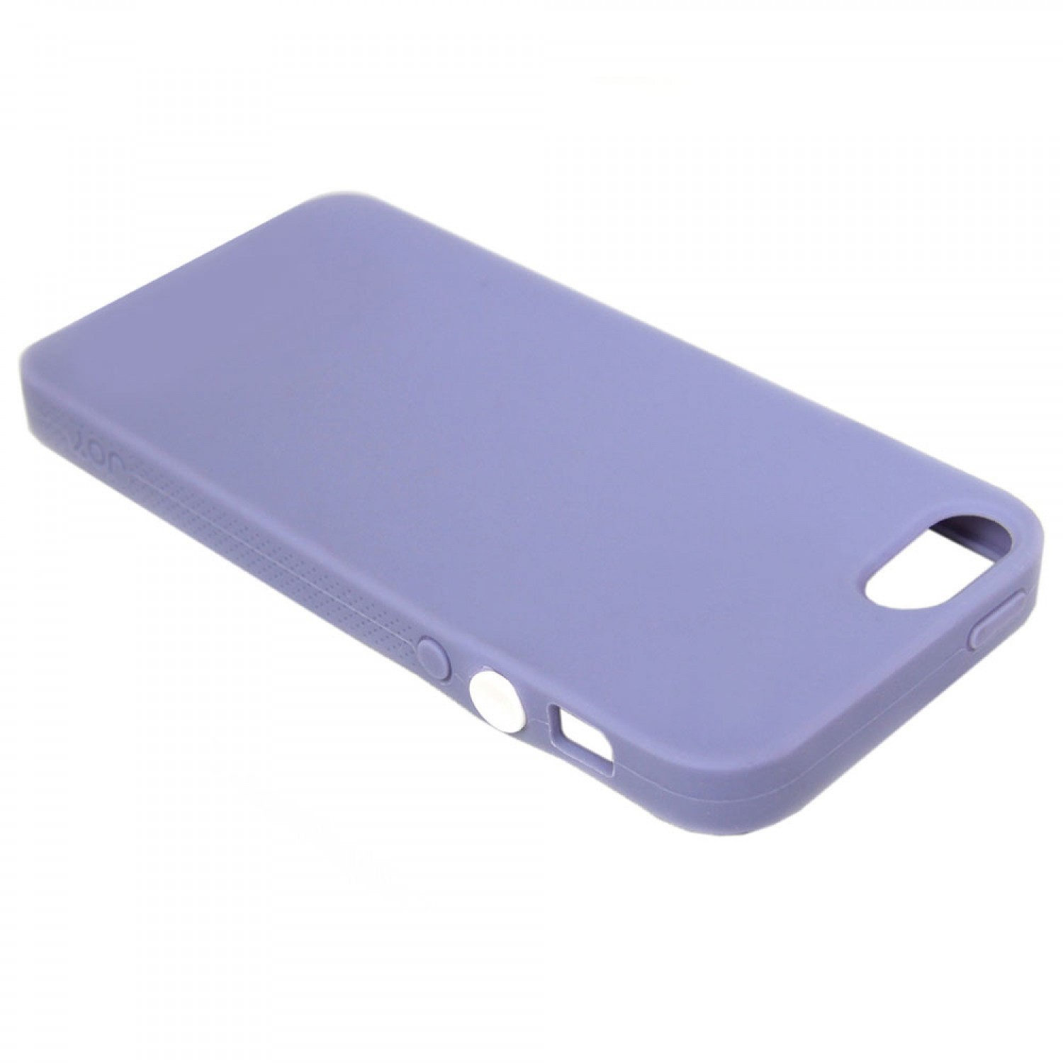 Joy Factory Jugar Siliconen Hoes iPhone 5(S)/SE paars