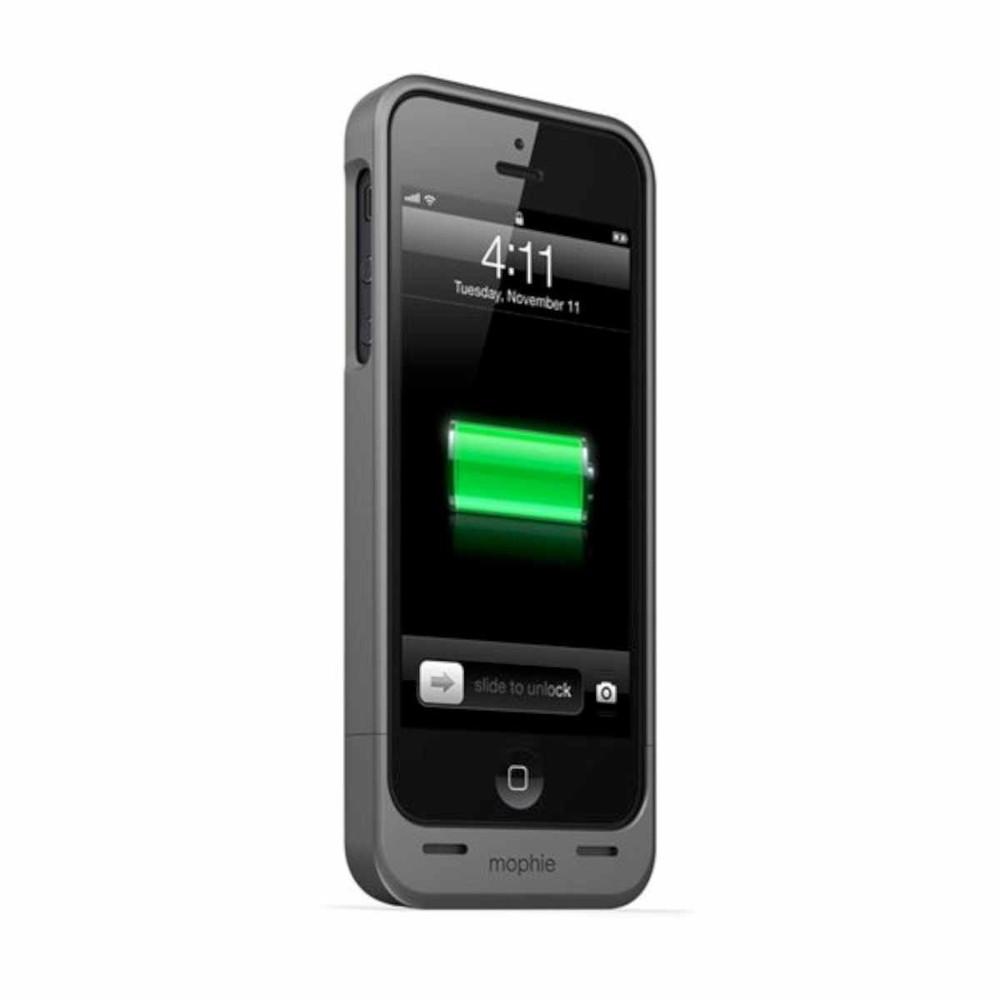 Mophie Juice Pack Helium iPhone 5(S)/SE grijs/zwart