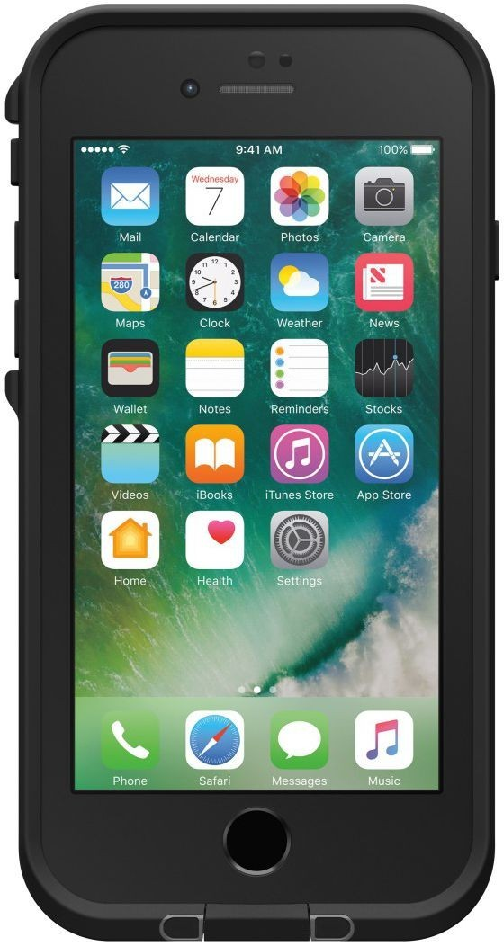 Lifeproof Fre iPhone 7 Asphalt zwart
