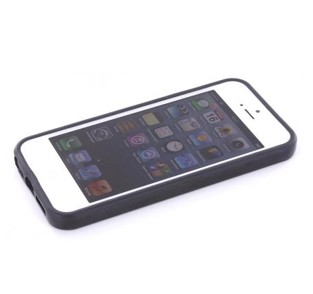 Mobiparts Bumper case iPhone 5(S)/SE zwart