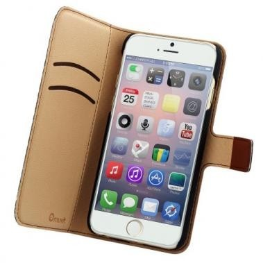 Muvit Wallet Case iPhone 6(S) bruin
