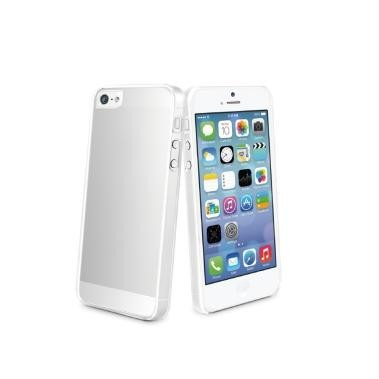 Muvit Clear Back Case iPhone 5(S)/SE transparant