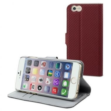Muvit Wallet Case iPhone 6(S) rood