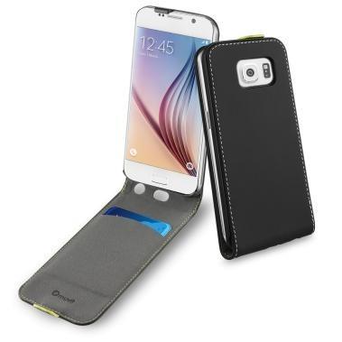 Muvit Wallet Slim flip case Galaxy S6 zwart