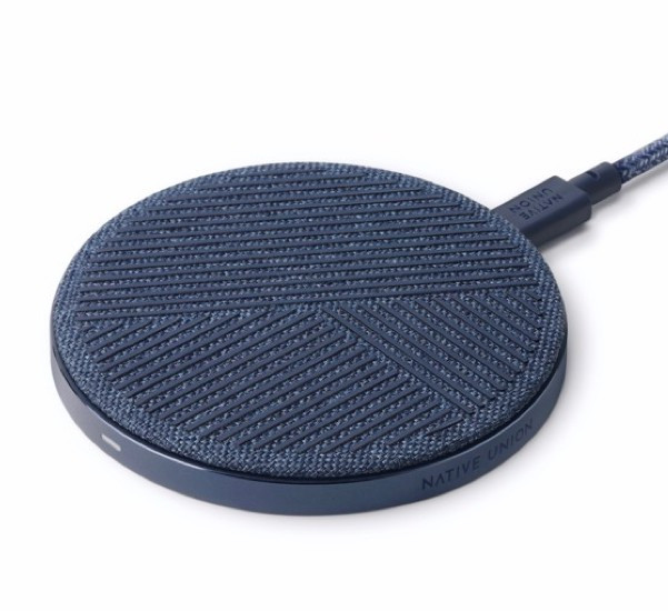 Native Union Drop Wireless Charger 10W blauw