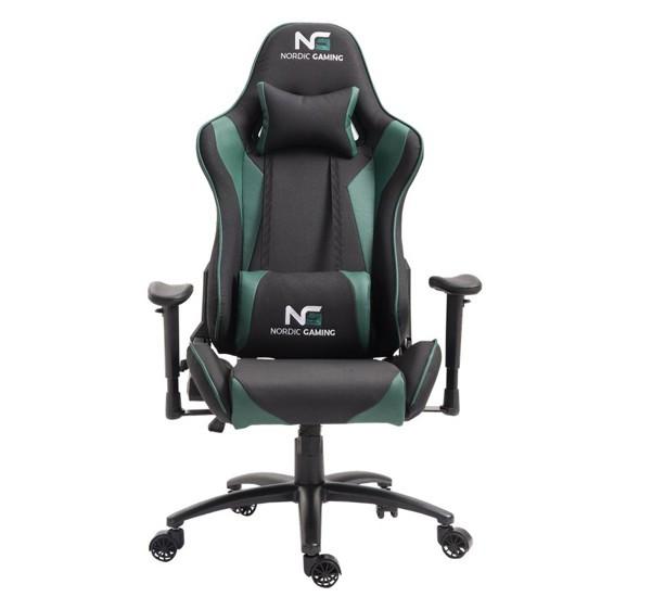 Nordic Gaming Racer gaming chair groen / zwart