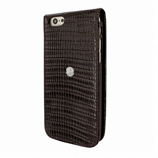 Piel Frama Magnetic iPhone 6(S) Plus Lizard zwart