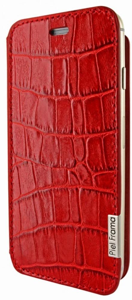 Piel Frama FramaSlim iPhone 6(S) Wild Crocodile rood
