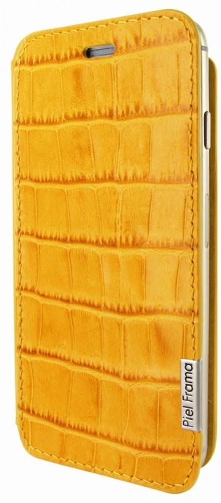 Piel Frama FramaSlim iPhone 6(S) Crocodile geel
